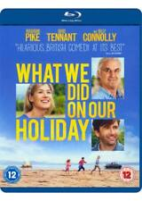 What We Did On Our Holiday starring Rosamund Pike,David Tennant [Blu-ray]