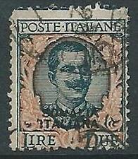 1926-30 SOMALIA USATO FLOREALE 2 LIRE - U20