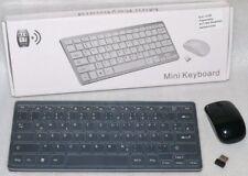 RSA 2435 Computer Wireless Funk Mini Tastatur Keyboard Maus 2,4 GHz USB PC Black