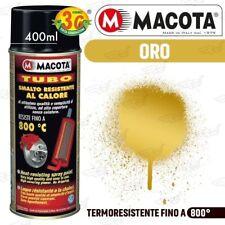 MACOTA Alte Temperature Vernice Spray Pinze Freno Marmitte Tuning Tubo Oro