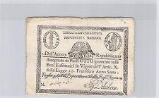 ITALIE 8 PAOLI AN 7 (1798) PICK S 538