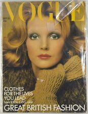 VOGUE magazine OSSIE CLARK Jean Muir THEA PORTER Catherine Deneuve ZANDRA RHODES