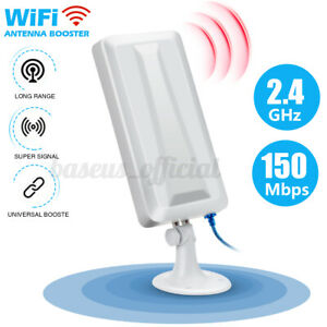Long Range WiFi Extender Wireless Outdoor Router Repeater WLAN Antenna