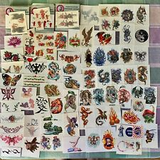 Vending Machine Temp. TATTOO Lot - Dragons,Hearts,Mythical,Butterfly,Pirate +