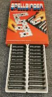 Vintage Capri Spellbinder The Domino Word Game Complete 1975