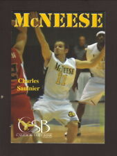McNeese State Cowboys--2007-08 Basketball Pocket Schedule--Cameron State Bank