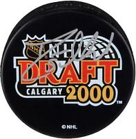 Deryk Engelland Golden Knights Signed 2000 NHL Draft Hockey Puck - Fanatics