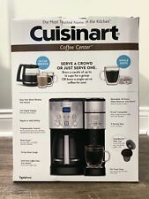 CuisinartCoffee Center SS-15 12-Cup Coffeemaker and Single-Serve Brewer -...