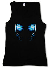 Mark II Armor Eyes Tank Top-Tony Stark Iron Arc Reactor Sign III 3 on T-Shirt