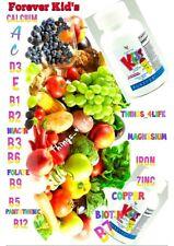 Forever Living Kids Chewable Multi Vitamins  New (EXP 2022) 120-Tablets