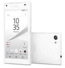 """Sony Xperia Z5 Compact  WHITE GRADO """"B"""" PARI NUOVO ACCESSORI GARANZIA 12 MESI"""
