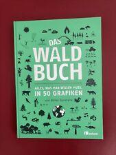 Das Waldbuch von Esther Gonstalla (2021, Gebundene Ausg.). Viele Grafiken. Neuw.