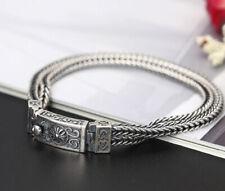 A07 Armband aus Sterling Silber 925 Antik Stil kettenartig gedreht