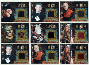 Farscape Season 2 2001 From the Archives Costume Card Selection CC1 - CC13