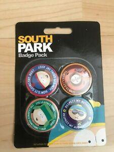 4 x South Park  Badge Pack-BNWT