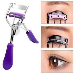 Eyelash Curler With Comb Tweezers Curling Tweezers Curling Multiple Colour