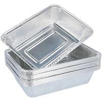15 Einweg-Grillschalen aus Aluminium zum Grillen, Kochen oder als Tropfschale