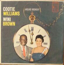 Cootie Williams and Wini Brown-Around Midnight With-Jaro 5001-SHRINK