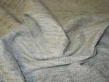 QUALITY UPHOLSTERY FABRIC IN A SUPERB TEXTURED CHENILLE IN GREY.