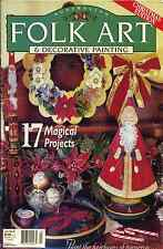 MAGAZINE -   FINE ART & DECORATIVE PAINTING VOL.7 NO.12