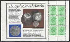 (RM1) GB QEII Stamps. The Royal Mint Prestige Booklet Pane ex DX4 1983