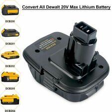 DCA1820 18/20V Adapter for Dewalt 18V Tools Convert All Dewalt Battery Convertor
