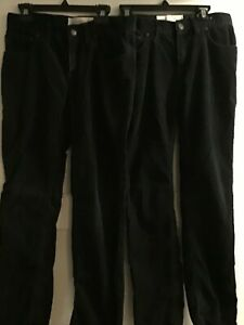 Tucker + Tate Navy blue coorduroy Ribbed Cotton Pants size 12 or 14 boys