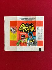 "1966, BATMAN, ""TOPPS"" Trading Card Wrapper (Vintage / Scarce)"