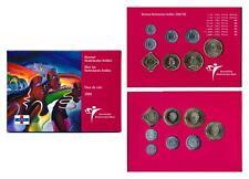 Netherlands Antilles 2000 Queen Beatrix official mint coin year set FDC