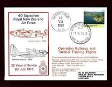#119  Cover  Operation Bullseye 1975 40 Squadron Royal N.Z. Air Force