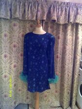 Drag Queen Black/Green glitter SHORT dress with green sleeves16/18