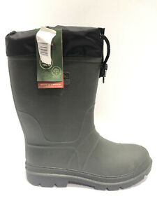 Kamik Men's Hunter, Insulated Waterproof Snow Boots, Size US 12M.