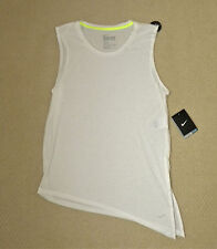 womens NIKE club tie tee white shirt size S/M loose fit NEW nwt $40