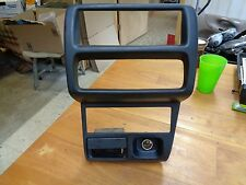 97 98 MAZDA PROTEGE CENTER DASH RADIO CLIMATE CONTROL BEZEL TRIM 1997 1998