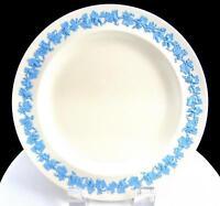 """WEDGWOOD QUEENS WARE BLUE EMBOSSED GRAPE & VINE 8 1/4"""" SALAD PLATE 1930-1983"""