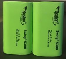 "Brand New ""2""  Boston Power Swing 5300 3.7V 5300mAh 13A Rechargeable Battery"