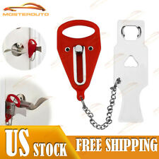 Portable Travel Security Safety Door Lock Home Hotel Intrusion Prevention Buckle