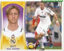 12 GUTI ESPANA REAL MADRID STICKER ESTE LIGA 2010 PANINI
