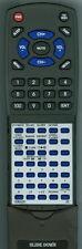 Replacement Remote Control for JVC VGR0042-301, VGR0042301, RMRXP1060