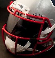 *CUSTOM* NEW ENGLAND PATRIOTS NFL OAKLEY Football Helmet EYE SHIELD / VISOR