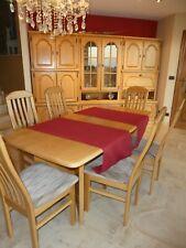 salle à manger (buffet + table + petit meuble bas + 6 chaises)