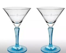 Bombay Sapphire Gin Cocktail Glass New X 2