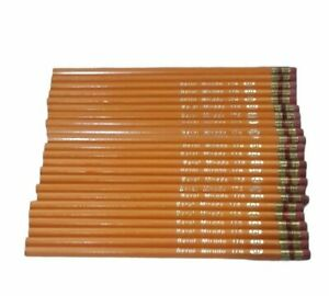 22 Vintage Mirado Writing Pencils 174-3. (Unsharpened)