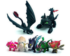 7Pcs/Set How To Train Your Dragon Figure Night Fury Toothless Child Toys kid