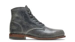 WOLVERINE 1000 Mile Boots Grey Men's Size 7 385$ W40579 New In Box