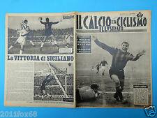 1963 il calcio e ciclismo illustrato 1 omar sivori juventus roma inter mantova
