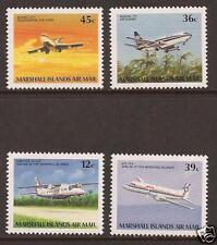 MARSHALL ISLANDS #'s C22-25 Airmail Aircraft