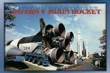 Saturn V Moon Rocket U.S. Space and Rocket Center, Huntsville Alabama - Postcard