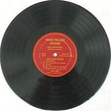 "JOHN JACOB NILES ♫ FOLK LOVE SONGS ♫ 1953 ULTRA-RARE 10"" BOONE-TOLLIVER RECORDS"