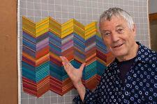 By the YARD  Kaffe Fassett Gray/Grey Design Wall Grid Cotton Flannel Free Spirit